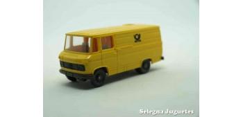 coche miniatura Furgoneta Postal Alemania Mercedes escala 1/87