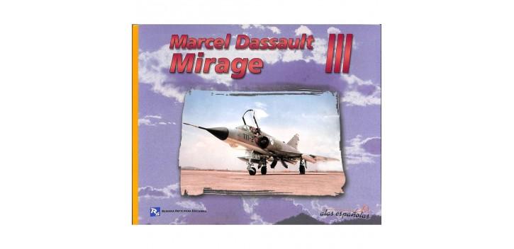 avion miniatura Avión - Libro - Mirage III - Marcel Dassault
