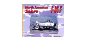 avion miniatura Avión - Libro - Sabre F-86 F North American