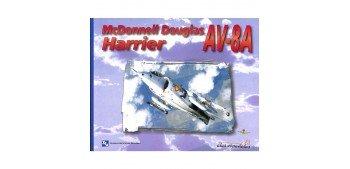 Airplene - Book - Harrier AV-8A Mcdonnell Douglas