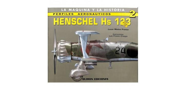 avion miniatura Avión - Libro - Henschel Hs 123