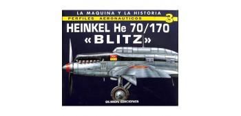 avion miniatura Avión - Libro - Heinkel He 70/170 Blitz