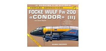 avion miniatura Avión - Libro - Focke Wulf Fw 200 (Vol I y II)