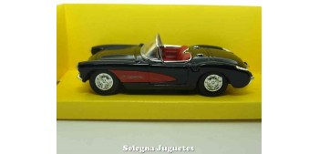 miniature car Chevrolet Corvette Black 1:43 Lucky Die Cast