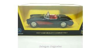 Chevrolet corvette negro 1/43 Lucky Die Cast
