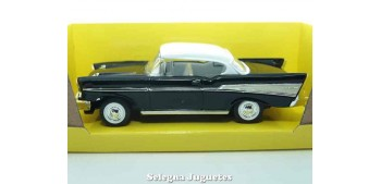 miniature car Chevrolet Bel Air Black 1:43 Lucky Die Cast