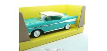 maqueta Chevrolet Bel air Turquesa 1/43 Lucky die cast