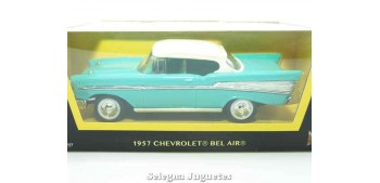 Chevrolet Bel air Turquesa 1/43 Lucky die cast