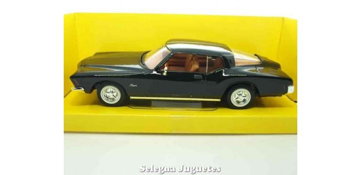maqueta Buick Riviera GS 1971 negro 1/43 Lucky die cast