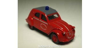 coche miniatura Citroen 2CV Pompiers 1/64 Norev