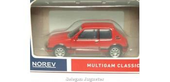 coche miniatura Peugeot 205 GT 1/64 Norev