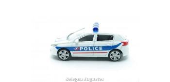 coche miniatura Peugeot 308 Police 1/64 Norev