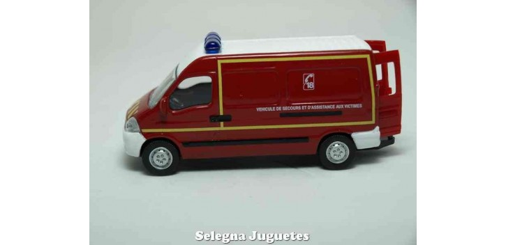 coche miniatura Renault Master Pompiers 1/64 Norev