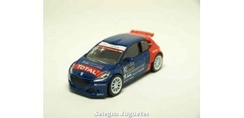 coche miniatura Peugeot 208 T16 WRC 1/64 Norev