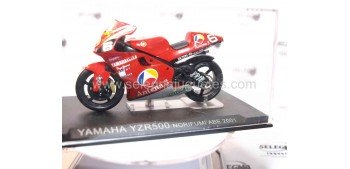 Yamaha YZR500 Norifumi Abe 2001 1:24 (damaged display case) scala 1:24 motorcycle