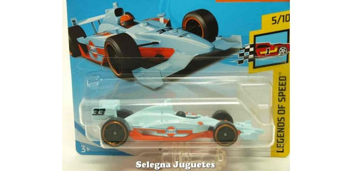 coche miniatura Indy 500 Oval 1/64 Hot Wheels