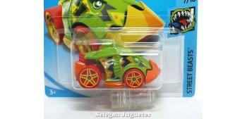 coche miniatura Piranha Terror 1/64 Hot Wheels