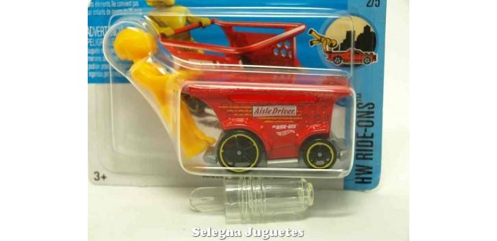coche miniatura Aisle Driver 1/64 Hot Wheels