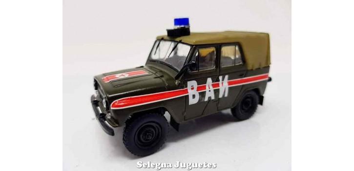 UAZ 469 VAI POLICIA MILITAR RUSA escala 1/43 coche metal miniatura