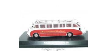 Lote de 6 autobues (1) autobus 1/72 Autobús