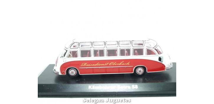 Lote de 6 autobues (1) autobus 1/72 Atlas
