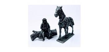 Cheval central de troika Gran Armée de Napoleón 1/32
