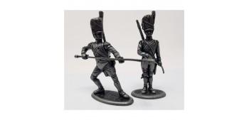 soldado plomo Artilleros Gran Armada de Napoleon 1/32