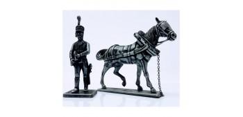 soldado plomo Ayudante del Mariscal Gran Armada de Napoleon 1/32