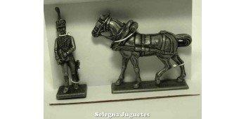 Ayudante del Mariscal Gran Armada de Napoleon 1/32 Escala 54 mm
