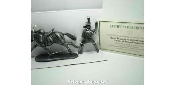 Caballo de lancero Guardia Imperial Gran Armada de Napoleon 1/32 Escala 54 mm