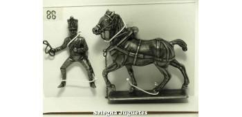 lead figure Draft horse Gran Armée de Napoleón 1/32