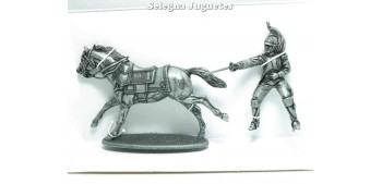 lead figure Dragon and horse Gran Armée de Napoleón 1/32