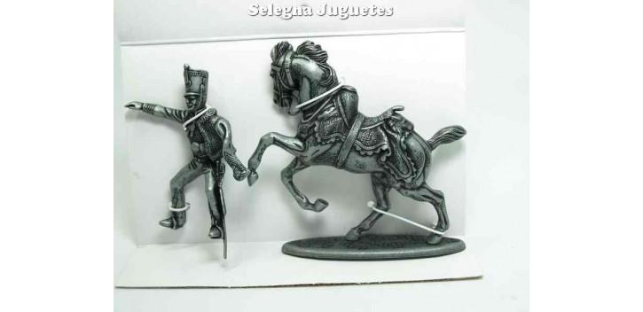 soldado plomo Caballo de Hussard Gran Armada de Napoleon 1/32