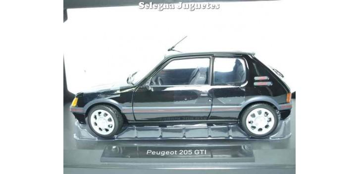 coche miniatura Peugeot 205 GTI 1.9 1988 1/18 Norev