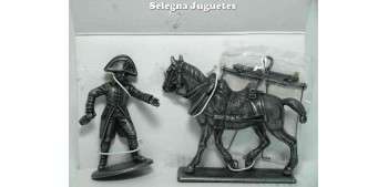lead figure Draft horse (2) Gran Armée de Napoleón 1/32