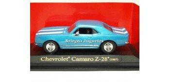 Chevrolet Camaro Z-28 1967 blue 1/43 Lucky Die Cast car miniature