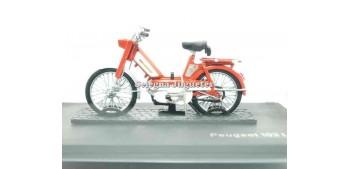 moto miniatura Peugeot 103 L orange 1/18 Norev