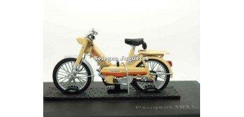 miniature motorcycle Peugeot 103 L Beige 1:18 Norev