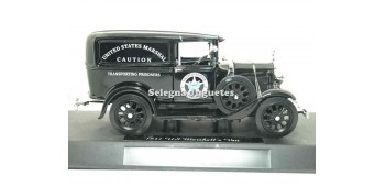 Ford Model A US Marsahll Van scale 1/32 New Ray coche en miniatura
