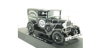 Ford Model A US Marsahll Van escala 1/32 New Ray coche en miniatura