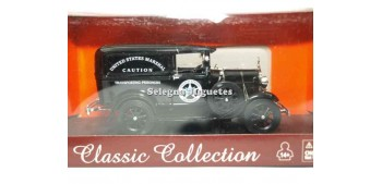 coche miniatura Ford Model A US Marsahll Van escala 1/32 New