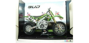 Kawasaki KX 450 Rutledge - Boog - Desprey - Dercourt 1/12 New ray Motos a escala