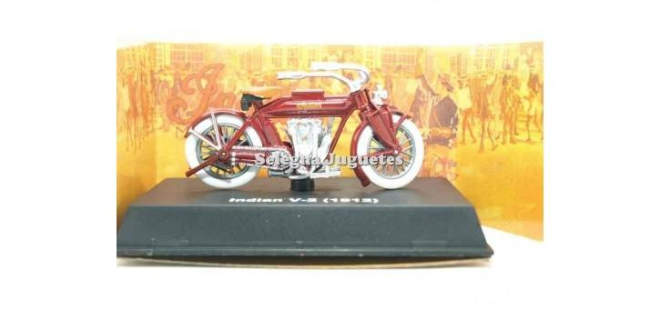 Indian V-2 1912 escala 1/32 New Ray moto minaitura Motos a escala