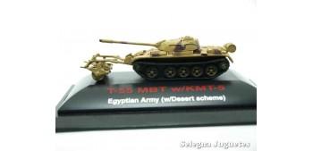 miniature tank T-55 MBT w/KMT-5 1/144 showcase wrong