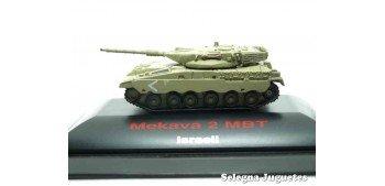 Merkava 2 MBT 1/144 tanque (vitrina dañada)