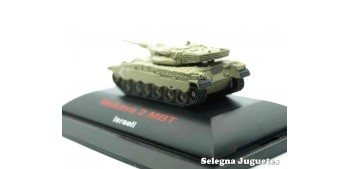 tanque miniatura Merkava 2 MBT 1/144 tanque (vitrina dañada)