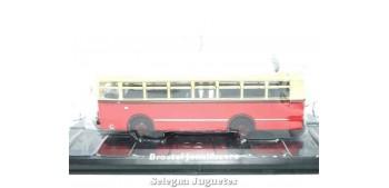 Lote de 10 autobuses escala 1/72