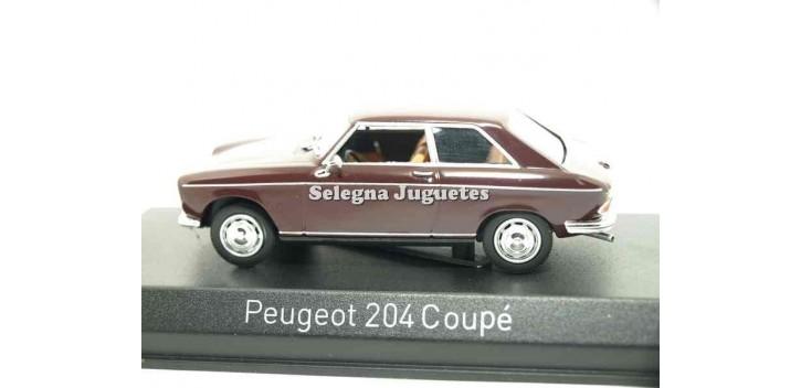 Peugeot 204 coupe 1/43 Norev Coches a escala