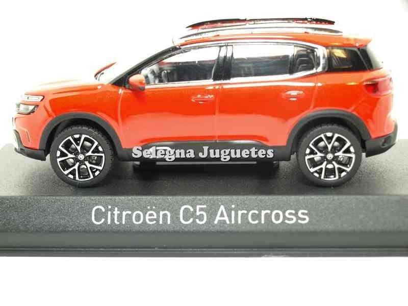 Citroen c5 aircross 2018 rojo volcano red 1:43 norev