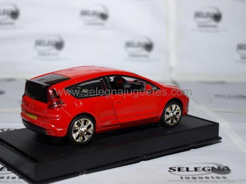 Rojo Coche Rmz Selegnajuguetes C4 Miniatura Metal Citroen 132 Y7gybf6